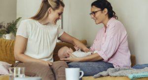 photo sage-femme suivi post-natal